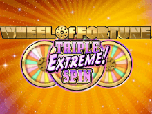 Играть онлайн в автомат Wheel Of Fortune: Triple Extreme Spin